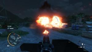 Geschütz-Feuer in Far Cry 3