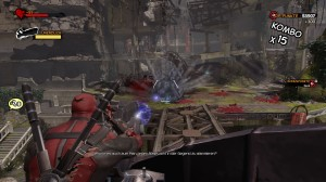 Screenshot Mini-Spiel Deadpool
