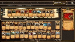 Screenshot Deck-Builder Scrolls