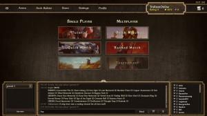 Screenshot: Scrolls Spielmodi