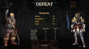 Screenshot Scrolls Niederlage